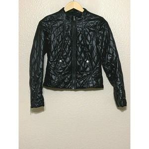 H&M Diamond Quilted Puffer Short Jacket